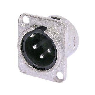 Neutrik Neutrik NC3MD-L-1 embase XLR mâle 3 contacts format D