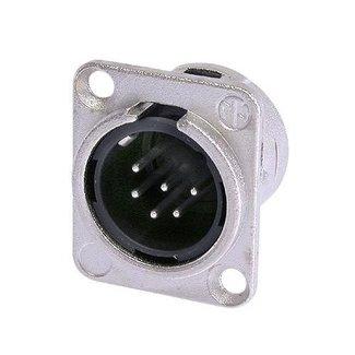 Neutrik Neutrik NC6MD-L-1 embase XLR mâle 6 contacts format D