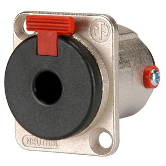Neutrik Neutrik NJ3FP6C Female 1/4'' TRS Panel Mount D-Size Connector