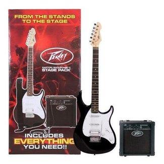 Peavey Peavey 03585340 ''Raptor Plus'' ensemble guitare électrique / amplificateur avec accessoires - noir