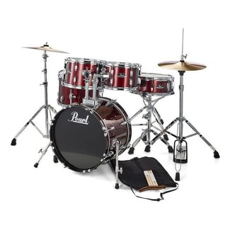Pearl Pearl Roadshow RS505C Complete Drum Kit with Cymbals - Red Wine