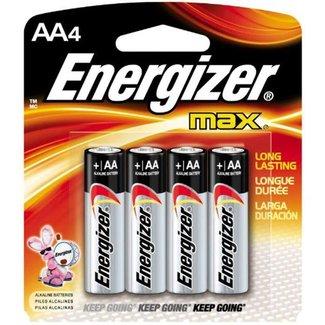 Energizer Energizer EN-E91BP4 batteries alkaline AA - Paquet de 4