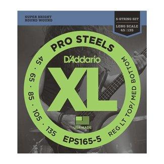 D'Addario D'Addario EPS165-5 5-String Electric Bass String Set 45-135