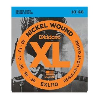 D'Addario D'Addario EXL110 ensemble de cordes pour guitare électrique 10-46