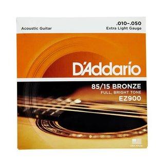 D'Addario D'Addario EZ900 Acoustic Guitar String Set 10-50