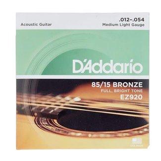 D'Addario D'Addario EZ920 ensemble de cordes pour guitare acoustique 12-54