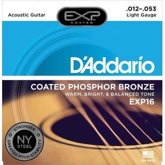 D'Addario D'Addario EXP16 ensemble de cordes pour guitare acoustique 12-53