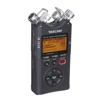 tascam Tascam DR40 4-Channel Portable Digital Recorder