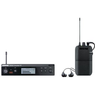 Shure Shure PSM300 Wireless Stereo Personal Monitor System with SE112-GR earphones - Frequency G20