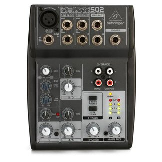 Behringer Behringer Xenyx 502 5-Channel Audio Mixer