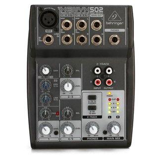 Behringer Behringer Xenyx 502 console audio analogique