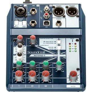 Soundcraft Soundcraft NOTEPAD-5 console audio analogique