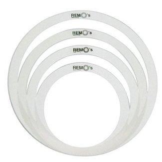 Remo Remo RO-0244-00 ensemble de cerceau contrôle de tonalité pour tambour 10'' / 12'' / 14'' / 14''