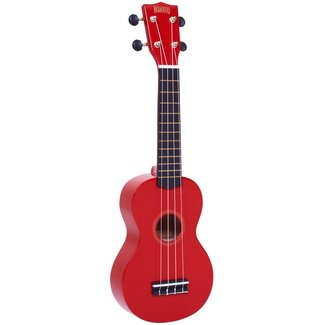 Mahalo Mahalo MR1 Soprano Ukulele with Bag - red