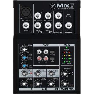 Mackie Mackie MIX5 console audio analogique