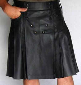 Leather Utilikilt