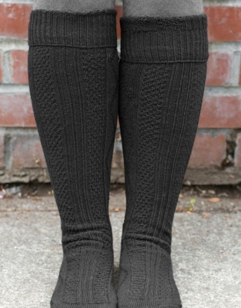 Celtic Weave Socks (Diamond Ribbed)