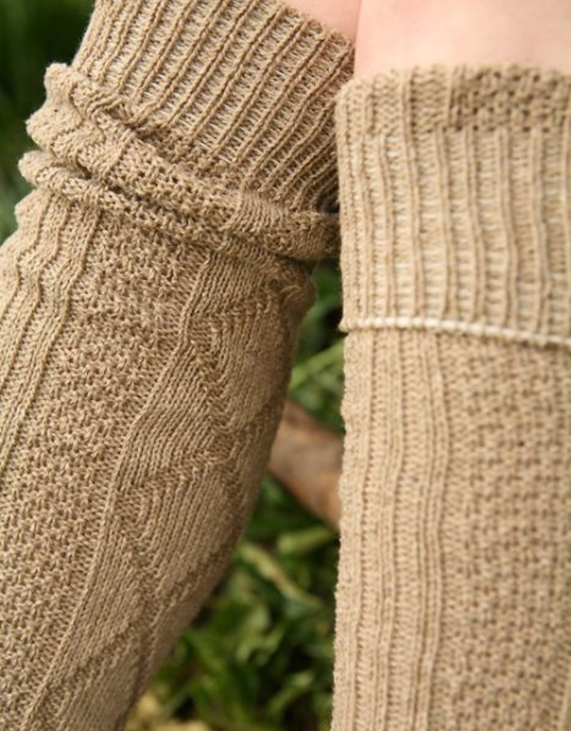 Celtic Weave Socks (Diamond Ribbed)
