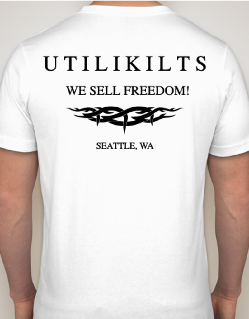 Utilikilts T-Shirt,  We Sell Freedom