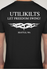 Utilikilts T-Shirt, Let Freedom Swing