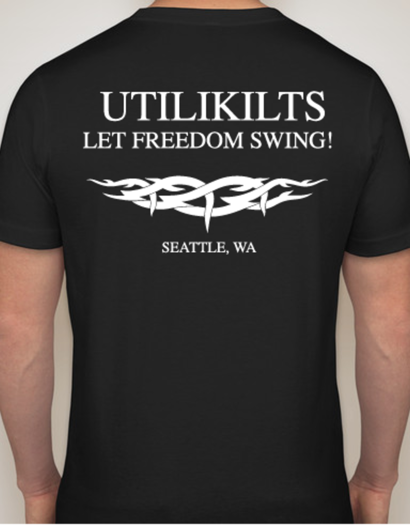 Utilikilts T-Shirt, Let Freedom Swing