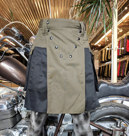 Two Tone Spartan - Olive & Black - 34 / 23