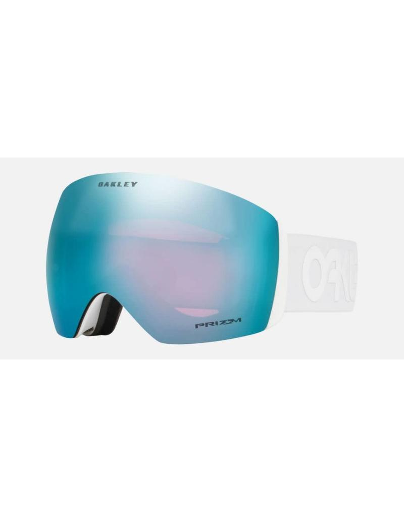 OAKLEY OAKLEY FLIGHT DECK FACTORY PILOT WHITEOUT PRIZM