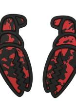 CRAB GRAB CRAB GRAB MEGA CLAW TRACTION BLACK RED SWIRL PAD