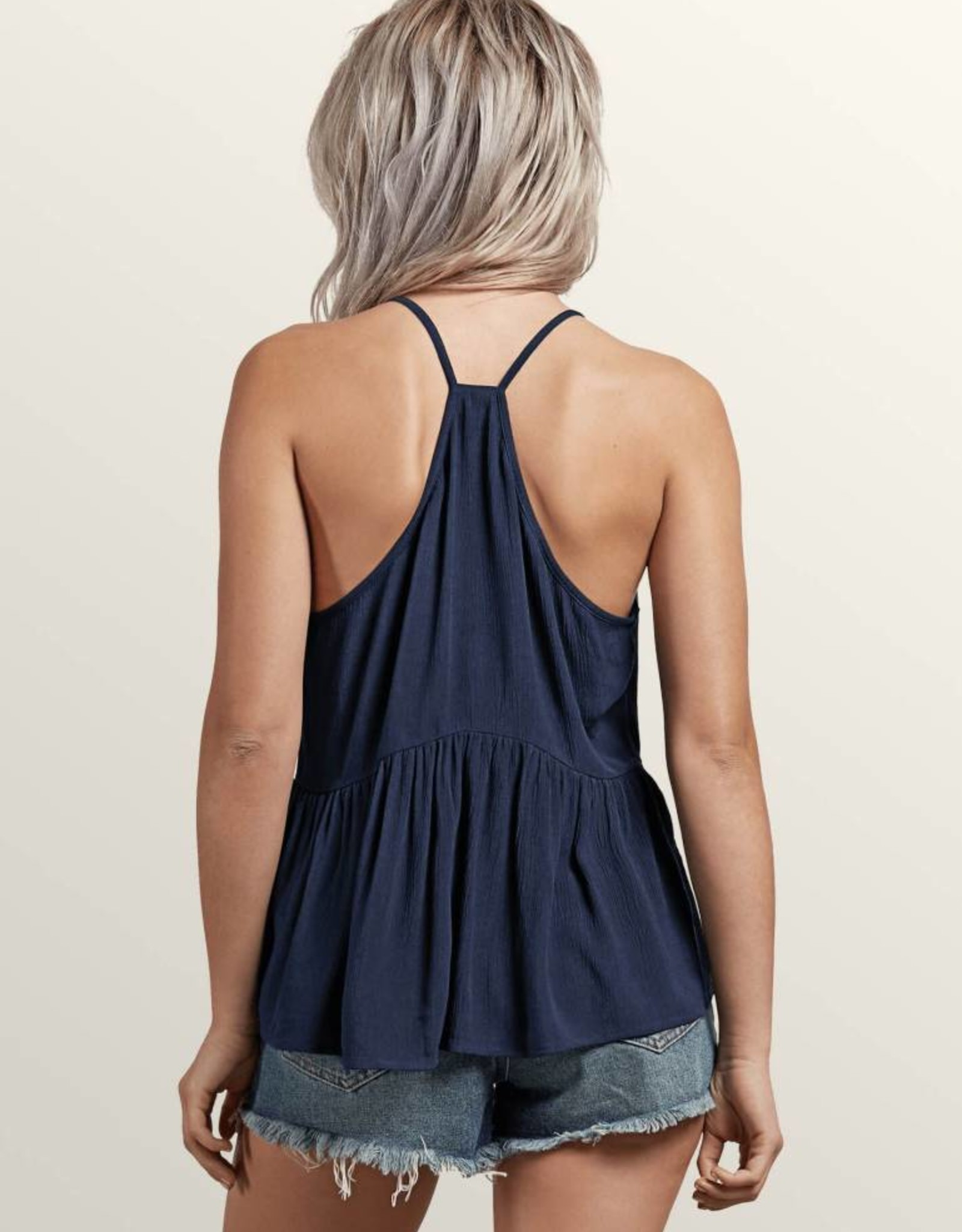 VOLCOM VOLCOM SOUL WINDOW TOP SEA NAVY