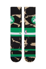 STANCE STANCE BOSTON CELTICS ACID WASH GREEN SOCKS MENS LARGE