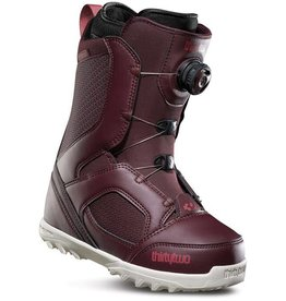 32 THIRTY TWO 2019 WOMENS STW BOA BOOT BURGUNDY