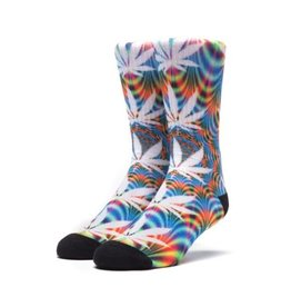 HUF HUF ALL THE LIGHTS SOCK BLUE