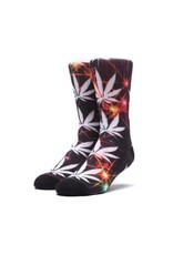 HUF HUF ALL THE LIGHTS SOCK BLACK
