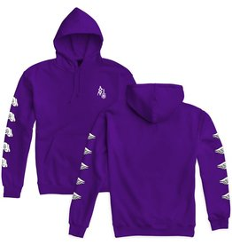 SKETCHY TANK SKETCHY TANK WINGS PO HOODIE PURPLE