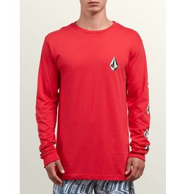 VOLCOM VOLCOM DEADLY STONES L/S SHIRT RED