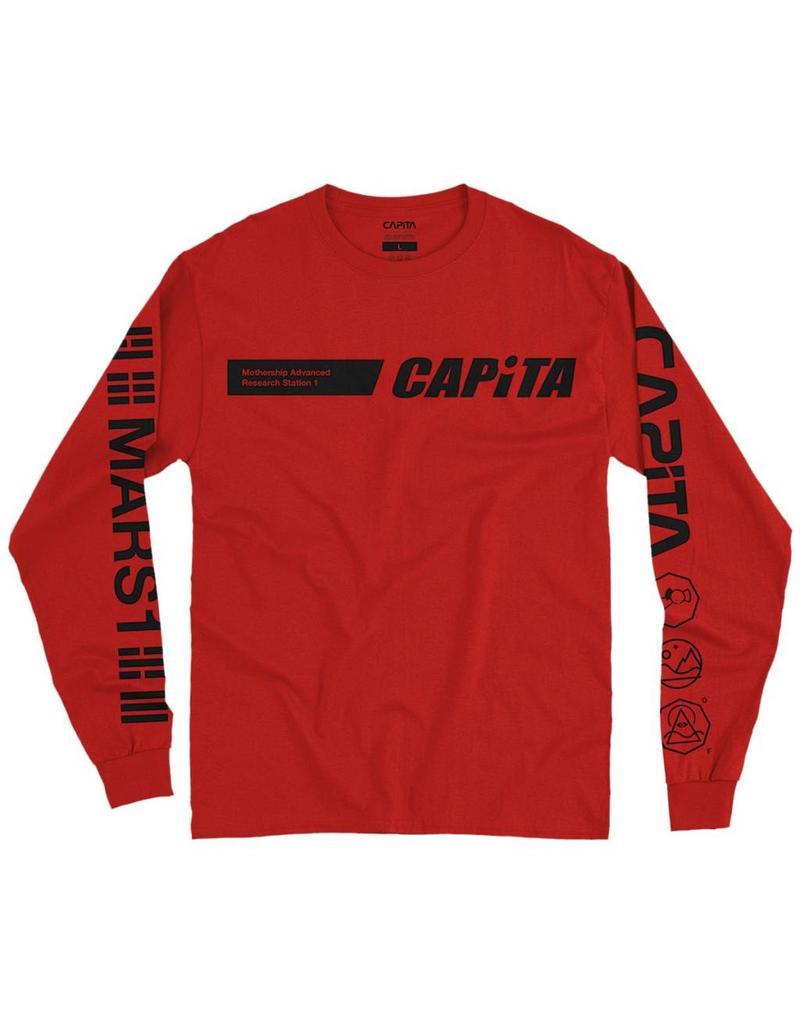 CAPITA CAPITA DHARMA LS TEE RED