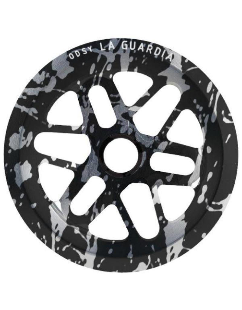 ODYSSEY ODYSSEY LA GUARDIA SPROCKET 25-T BLACK SPLATTER