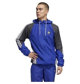 ADIDAS ADIDAS INSLEY JACKET ACTION BLUE