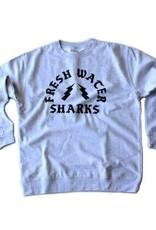 BASSACHUSETTS BASSACHUSETTS FRESHWATER SHARKS CREWNECK SWEATSHIRT