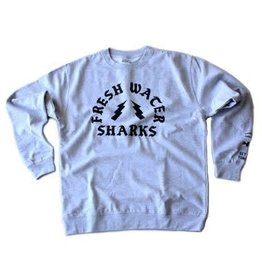 BASSACHUSETTS BASSACHUSETTS FRESHWATER SHARKS CREWNECK SWEATSHIRT