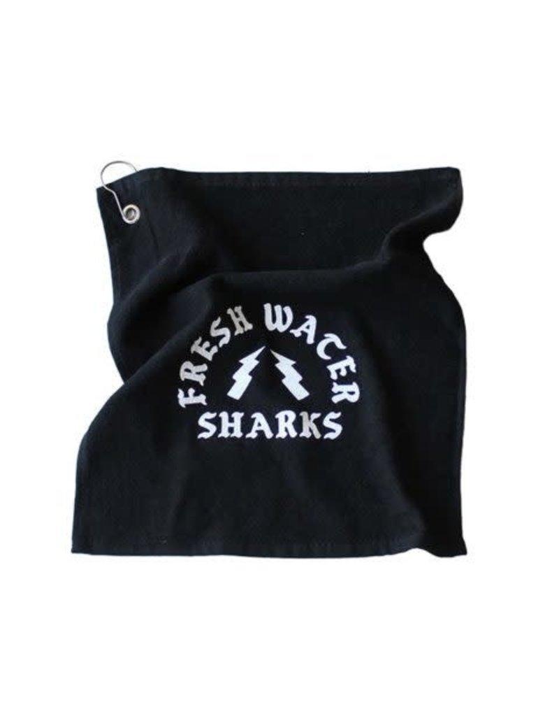 BASSACHUSETTS BASSACHUSETTS FRESH WATER SHARKS HAND TOWEL