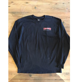 THRASHER THRASHER EMBROIDERED OUTLINED L/S SHIRT