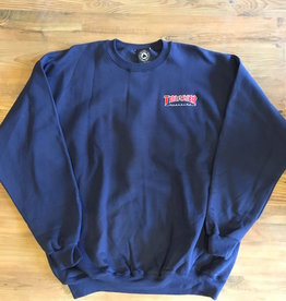 THRASHER THRASHER EMBROIDERED OUTLINED CREWNECK SWEATSHIRT