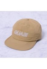 QUASI QUASI BASE 6 PANEL SNAPBACK CAP BEIGE
