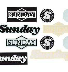 SUNDAY SUNDAY STICKER PACK