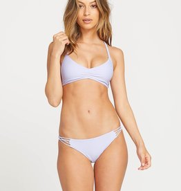 VOLCOM VOLCOM SIMPLY SOLID V NECK BATHING SUIT TOP