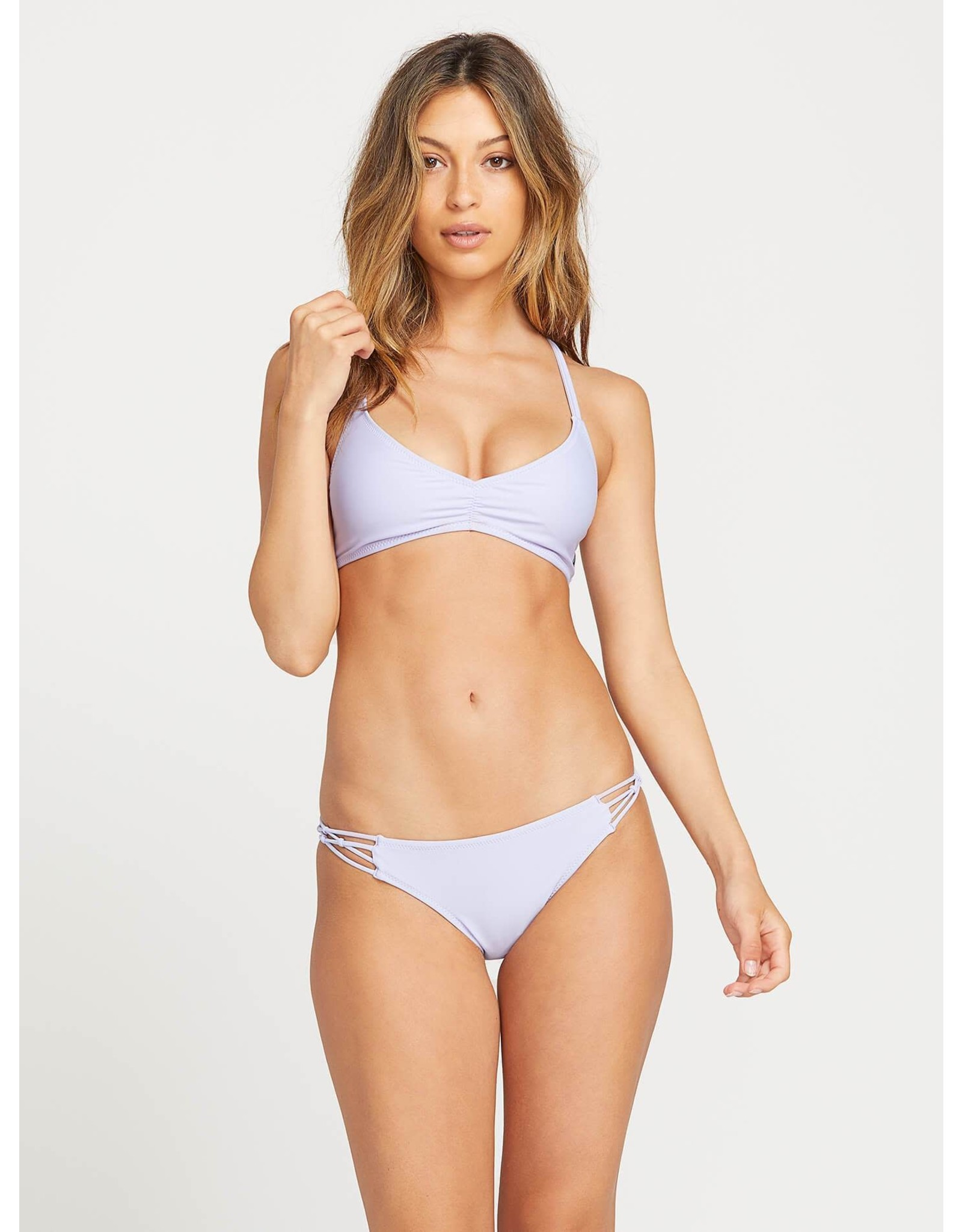 VOLCOM VOLCOM SIMPLY SOLID FULL BATHING SUIT BOTTOM