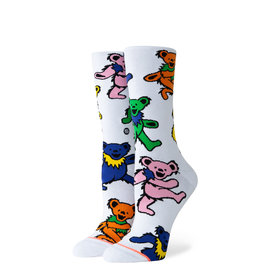 STANCE STANCE WOMENS GARETFUL DEAD BEARS CHOICE SOCK SMALL