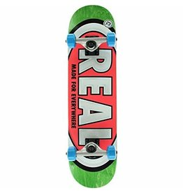 REAL REAL TEAM OVAL MINI COMPLETE 7.3 GREEN PINK