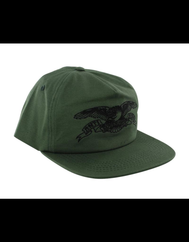 ANTIHERO ANTIHERO BASIC EAGLE GREEN SNAPBACK CAP